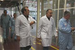 José Ruiz con José Manuel Garcia, secretario de organización de MCA-UGT-PV