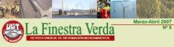 La Finestra Verda: Revista Sindical de Información Medioambiental. MArzo - Abril 2007 Nº 8