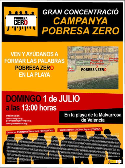 UGT-PV invita a participar en la concentración del 1 de julio, en playa de la Malvarrosa de Valencia