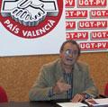 UGT-PV reclama a la Generalitat que abandone el «ciego optimismo» y potencie la colaboración social