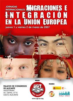 Jornadas Internacionales Migraciones e Integración en la Unión Europea. Alicante. 1 y 2 de marzo