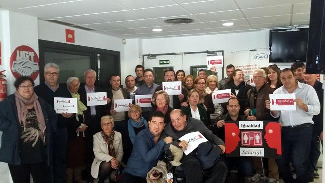 L'Alacanti la Marina celebra el Día de la Igualdad Salarial