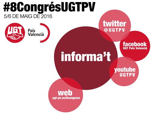 UGT-PV redes sociales