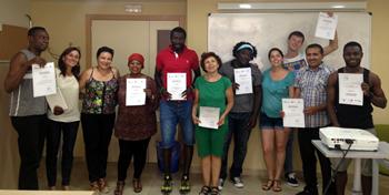 Clausurada la I edición del Curso de Español para Personas Refugiadas e Inmigrantes