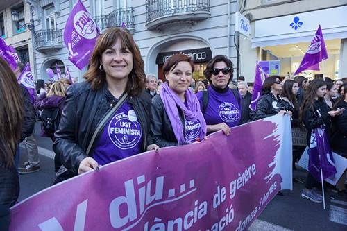 Las movilizaciones del 8M cierran una jornada histórica por la igualdad y el fin de la violencia