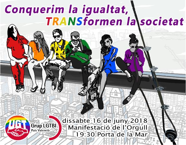 Manifestación del Orgullo LGTBI en Valencia