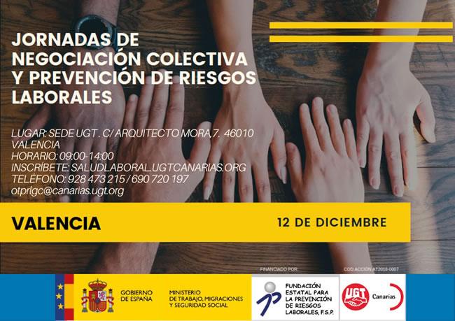 Jornada técnica en materia de prevención de riesgos laborales y negociación colectiva