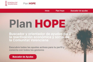 Plan Hope Generalitat UGTPV