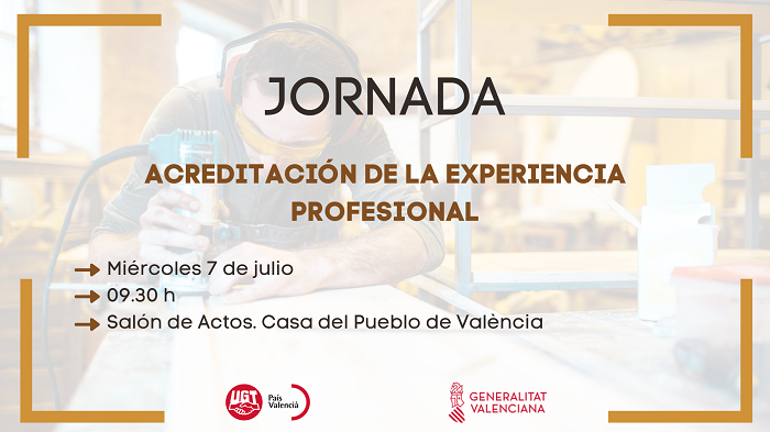 JORNADA: Acreditación de la experiencia profesional